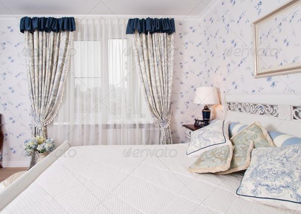 Elegant bedroom - Stock Photo - Images
