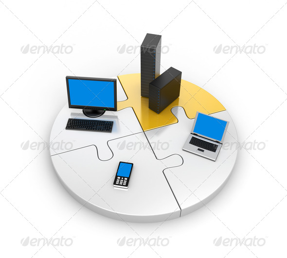 World information technology - Stock Photo - Images