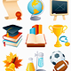 Education icon set - GraphicRiver Item for Sale