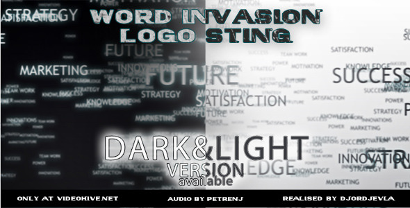 After Effects Project - VideoHive The Words Invasion Logo 2778432