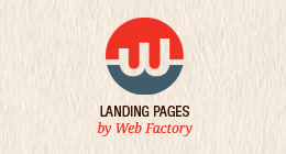 Landing pages by WebFactory