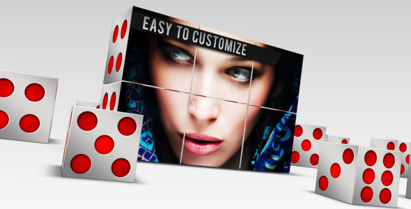 After Effects Project - VideoHive 3D Dice Presentation 2779679