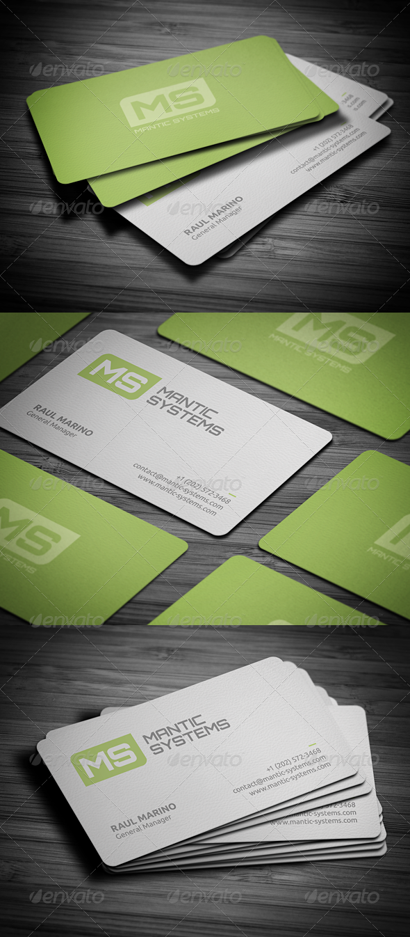 GraphicRiver Modern Business Card 2780559