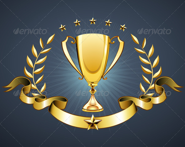 GraphicRiver Golden trophy 2780598