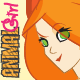 Animal Girl Pinup Vectors - GraphicRiver Item for Sale