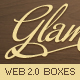 Glamorous Web 2.0 Boxes - GraphicRiver Item for Sale