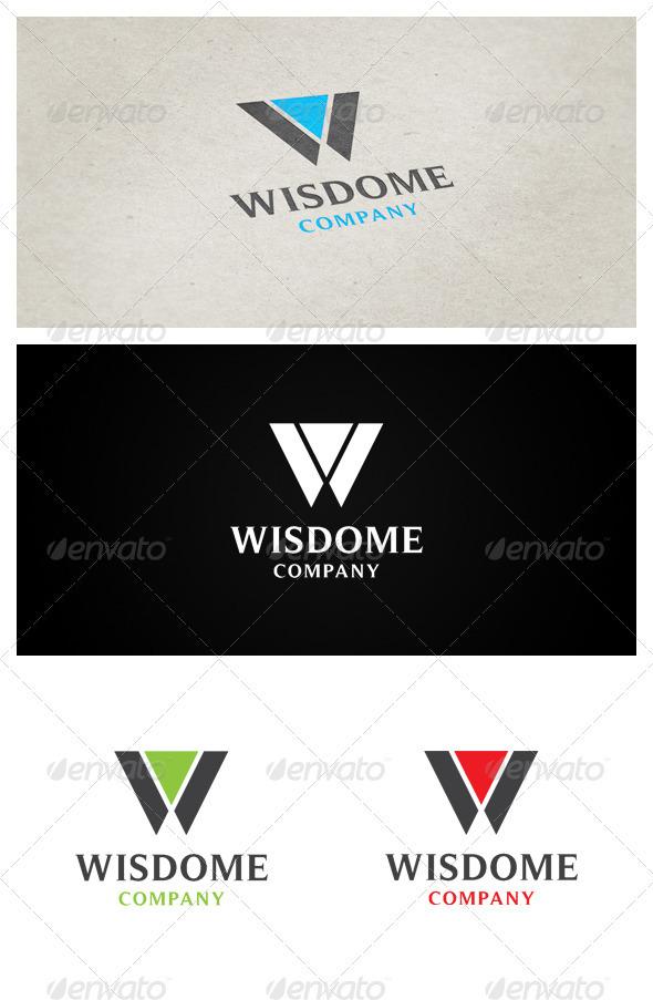 Wisdome Company - Letters Logo Templates