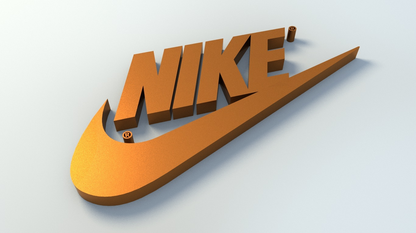 Nike Logo 3d Model By Owpictures 3docean