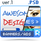 Creative Work Promo - Web Banners / Ads - GraphicRiver Item for Sale
