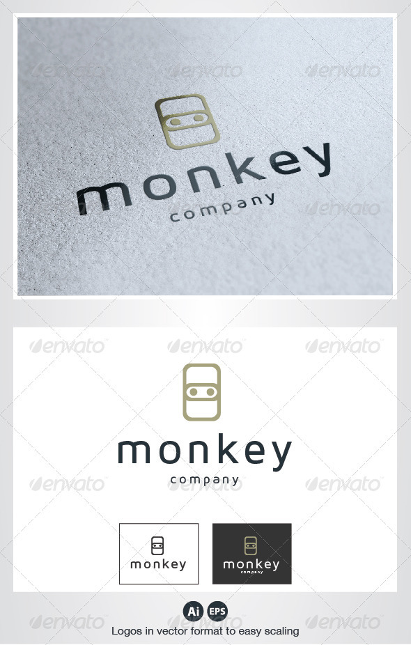 GraphicRiver Monkey Logo 2782173