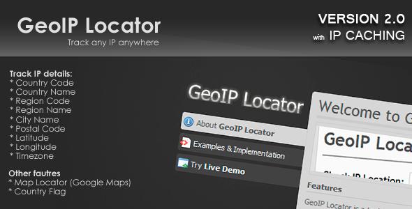 CodeCanyon GeoIP Locator 87635