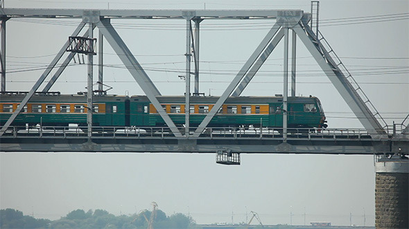 VideoHive Railway Bridge 2783880