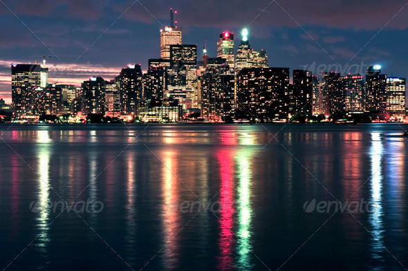Toronto Skyline - Stock Photo - Images