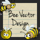 Bee Vector Design - GraphicRiver Item for Sale