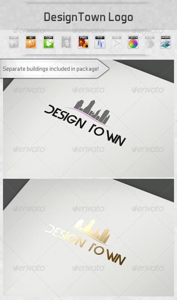 GraphicRiver DesignTown Logo 2746124