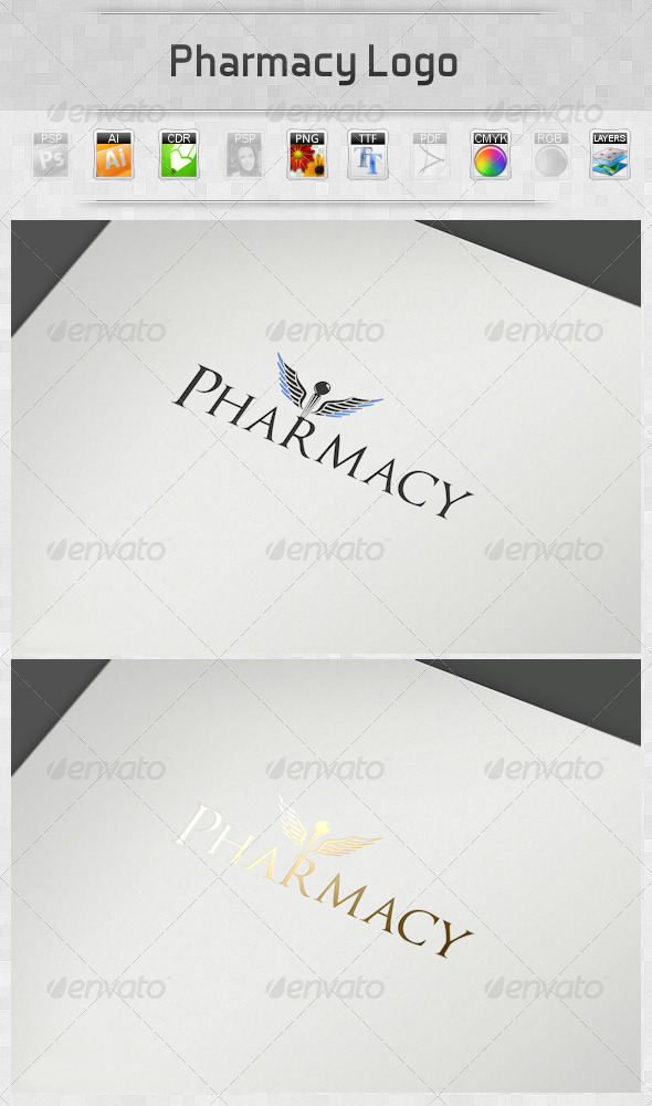 GraphicRiver Pharmacy Logo 2724432