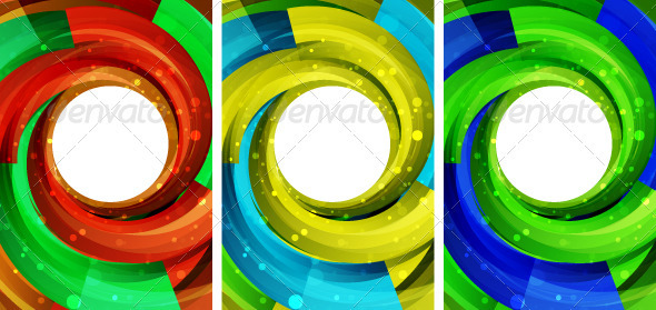 Vector Swirl Design Background - Backgrounds Decorative