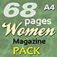 68 Pages Women Magazine Pack
