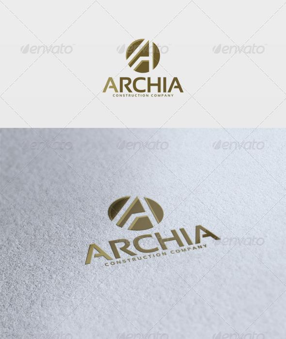 Archia Logo - Letters Logo Templates