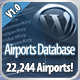 Airport Database for Wordpress with Text Spinner