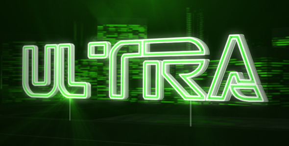 After Effects Project - VideoHive Ultra Logo 2785282