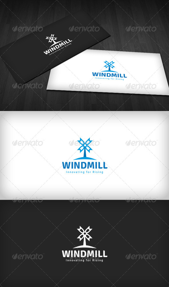 Windmill Logo - Objects Logo Templates