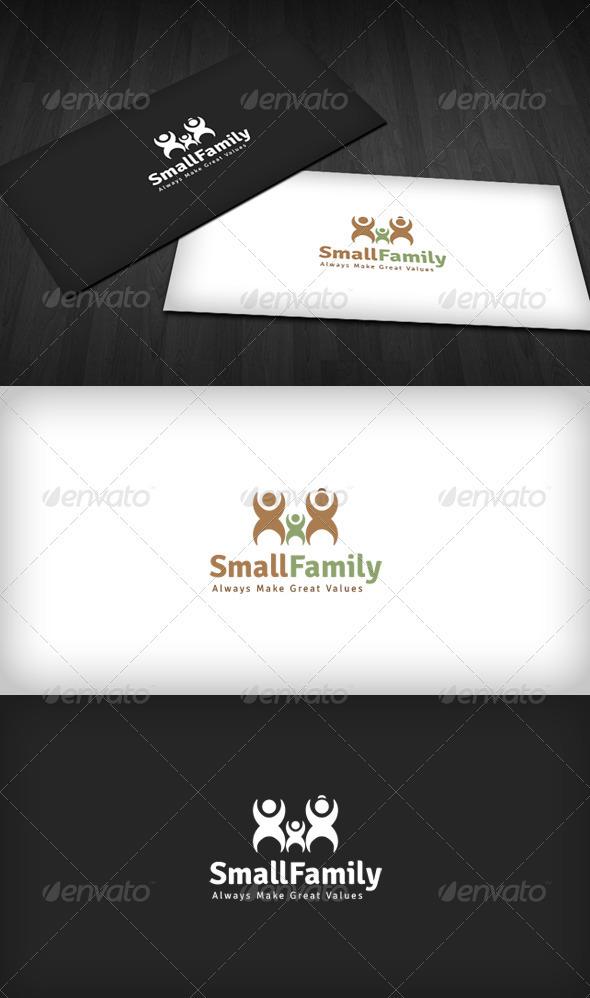 GraphicRiver Small Family Logo 2785381