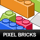 Pixel Toy Bricks - GraphicRiver Item for Sale