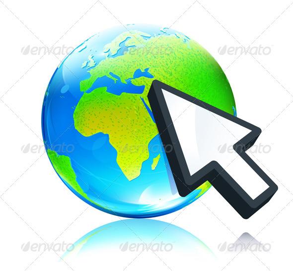 Earth map globe - Conceptual Vectors