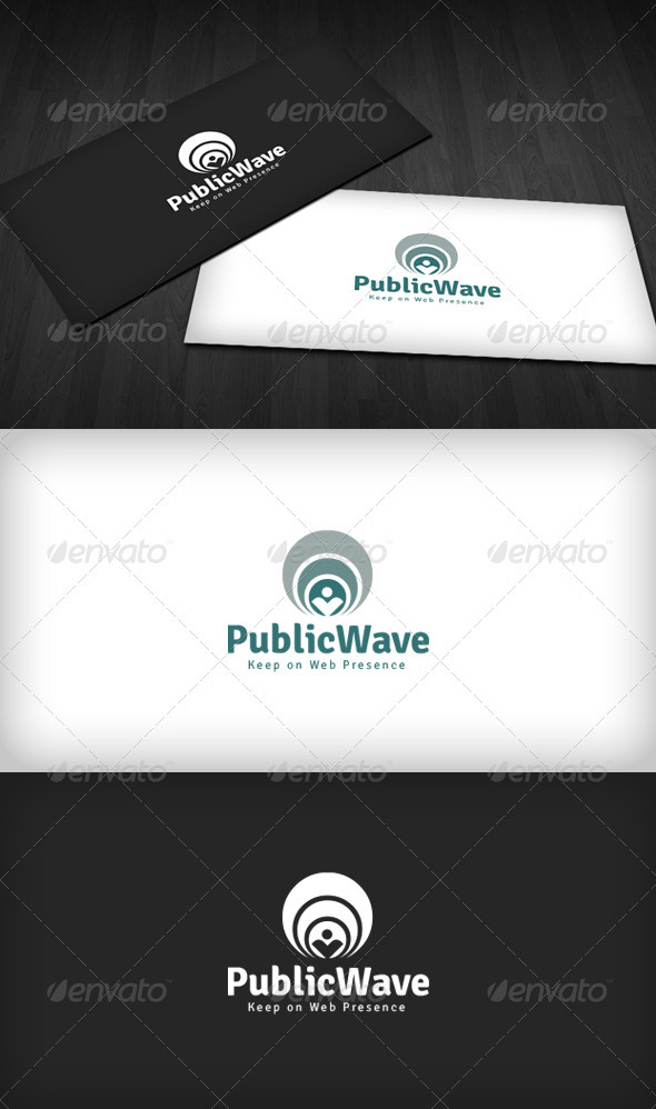 GraphicRiver Public Wave Logo 2785637