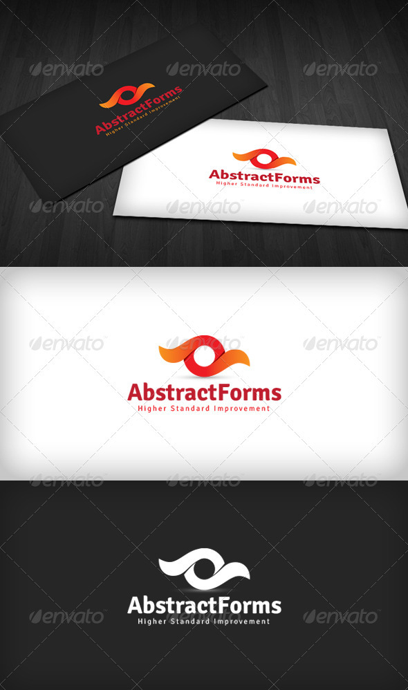 Abstract Forms Logo