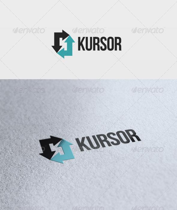 Kursor Logo - Letters Logo Templates