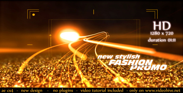 After Effects Project - VideoHive Fashion Promo 2744728