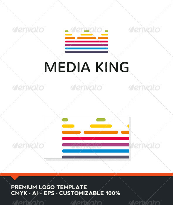 Media King - Abstract Logo Templates
