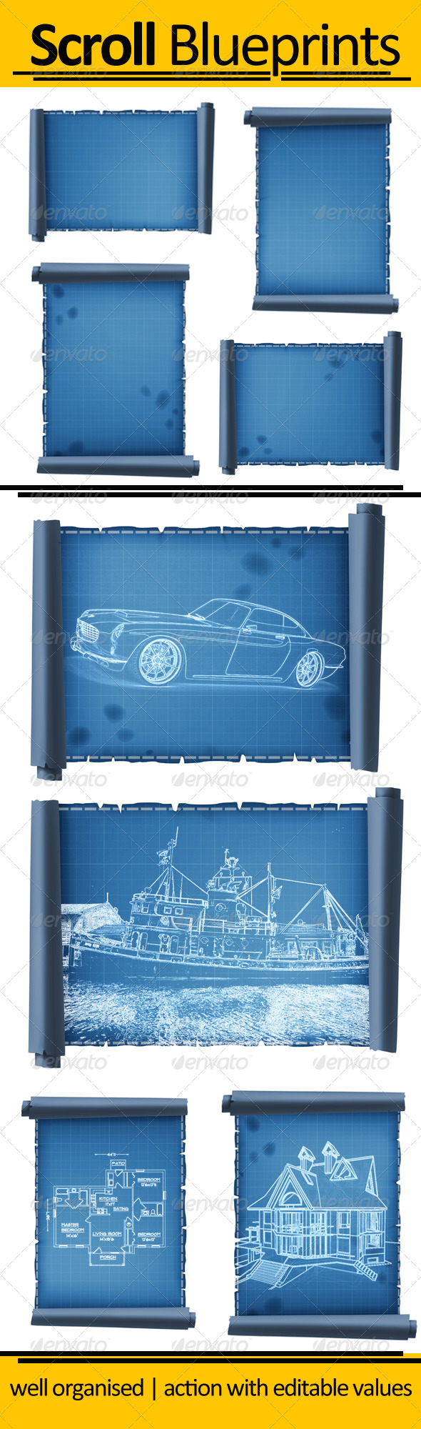 Scroll Blueprint - Photoshop Add-ons