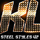 Metal Steel Photoshop Layers Styles V2 - GraphicRiver Item for Sale