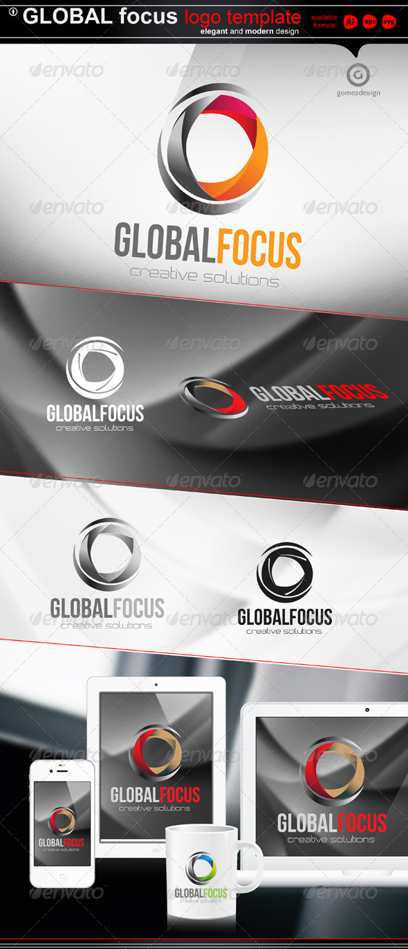 Global Focus - Abstract Logo Templates