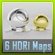 HDRI - 6 Light Tent Maps