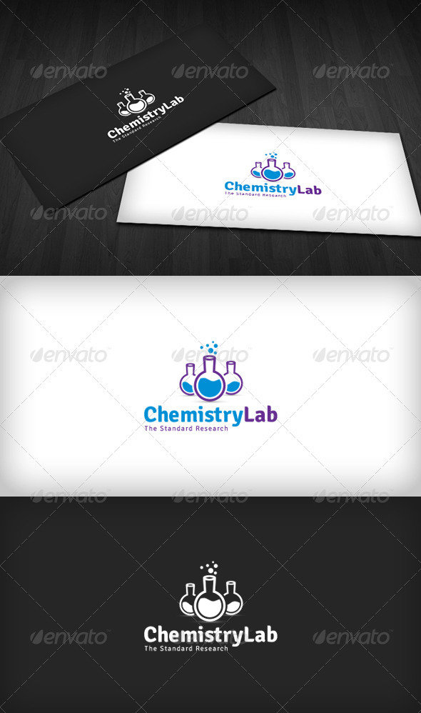 Chemistry Lab Logo - Objects Logo Templates
