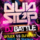Dubstep Dj Battle Flyer Template - GraphicRiver Item for Sale