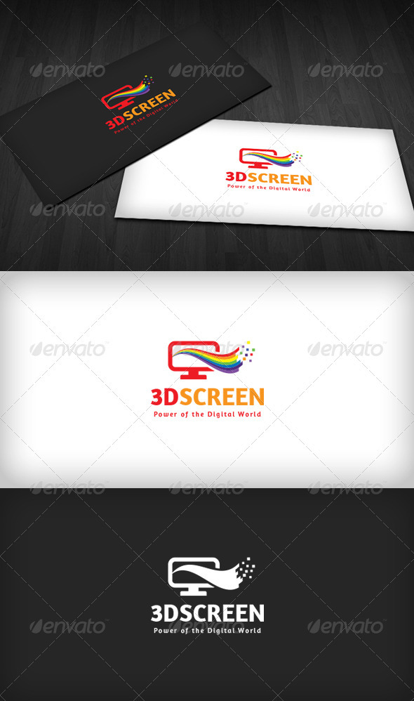 3D Screen Logo