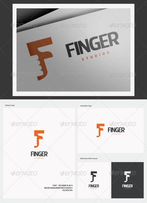 Finger Studios Logo - Letters Logo Templates