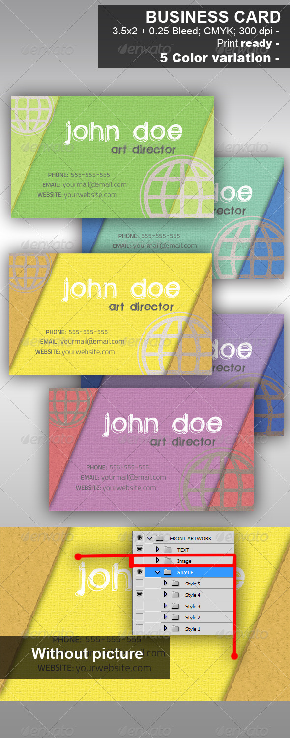 Handmade Business Card - Creative Business Cards