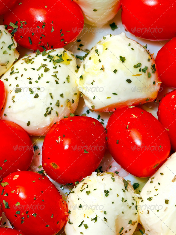 Caprese salad - Stock Photo - Images