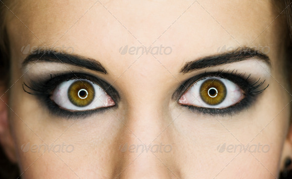 Eyes! - Stock Photo - Images