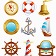 Sailing icon - GraphicRiver Item for Sale