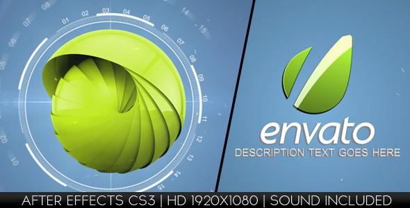 VideoHive Hi-Tech Logo Reveal 2789964