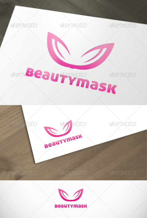 BeautyMask Fashion and Spa Premium Logo Template - Objects Logo Templates