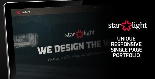 ThemeForest Starlight Responsive Portfolio 2790032