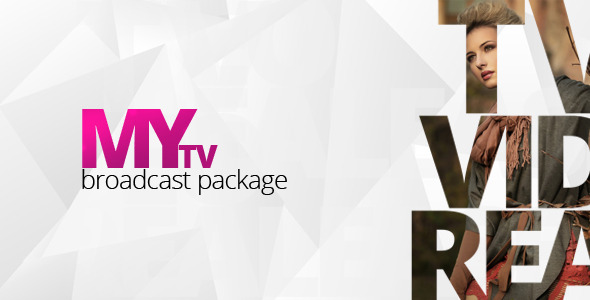 VideoHive My TV Broadcast Package 2790250